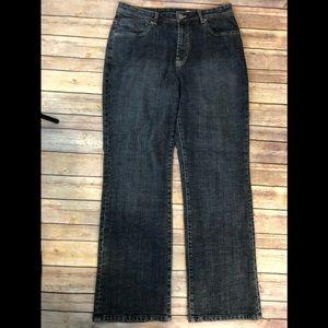 Chico's Platinum size 2 Short Blue Jeans